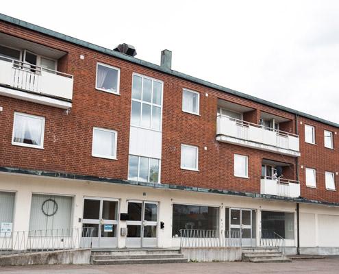Bygga fastigheter lägenheter och lokaler storgatan 37-41 Burseryd