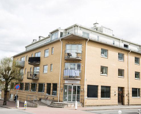 Ängsgatan lägenheter och lokaler i Gislaved